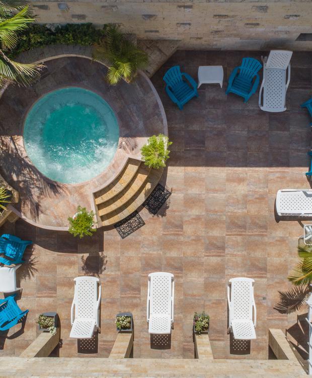 Jacuzzi GHL Relax Hotel Sunrise San Andrés