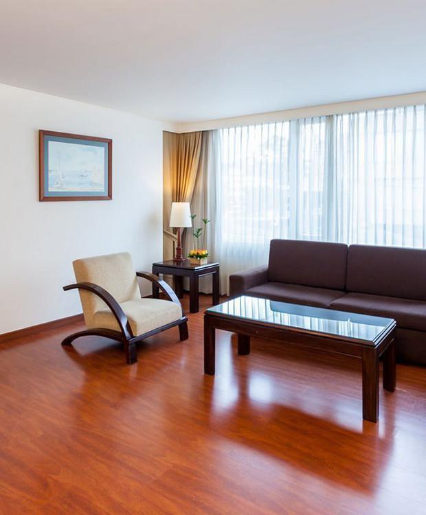 Habitación Junior Suite Twin GHL Style Hotel Belvedere Bogotá