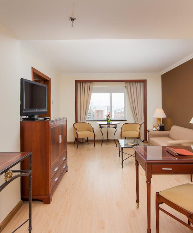Sala de estar Hotel Tequendama Bogotá