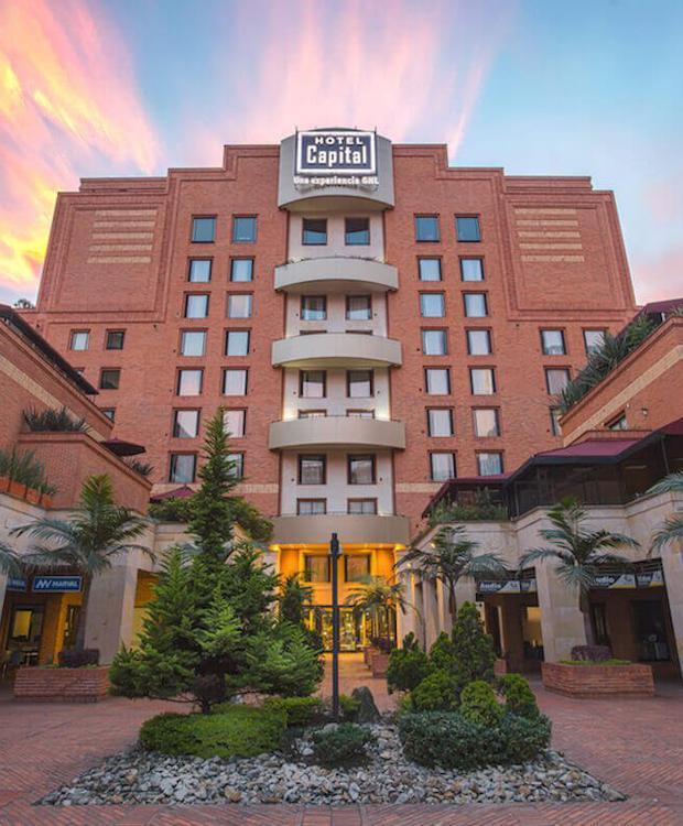 Fachada GHL Hotel Capital GHL Hotel Capital Bogotá