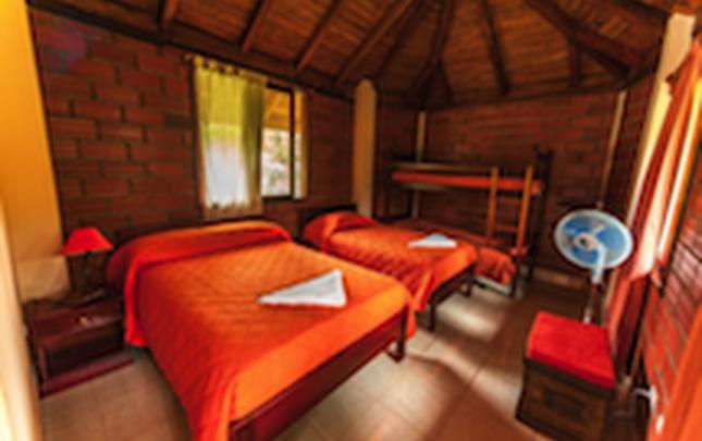 SUITE SUPERIOR Orkidea Lodge Puyo