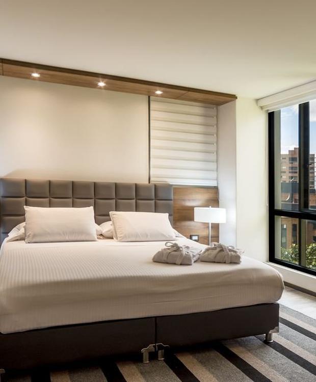 Habitación lujo ejecutivo GHL Hotel Portón Medellín Medellín
