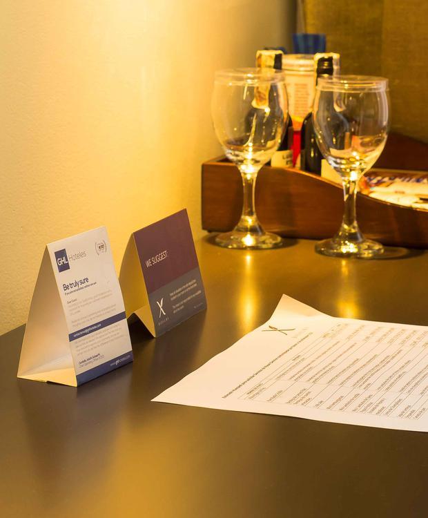 detalle Bioxury Hotel Bogotá